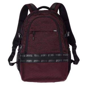 •• VS PINK Maroon Backpack ••
